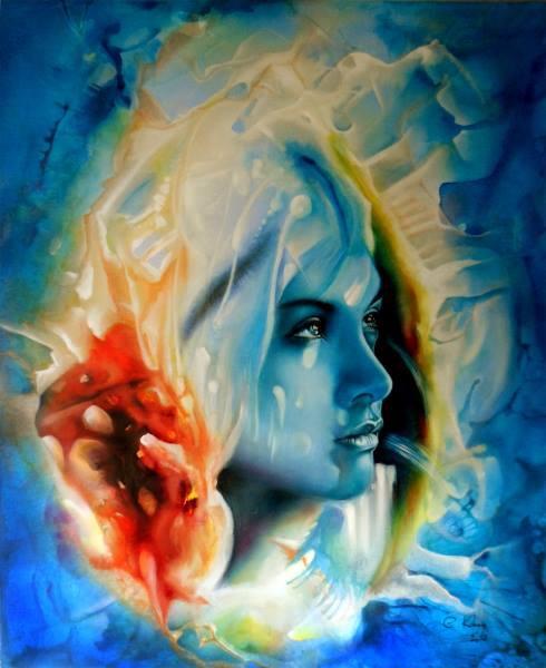 Arte de Claudy Khan