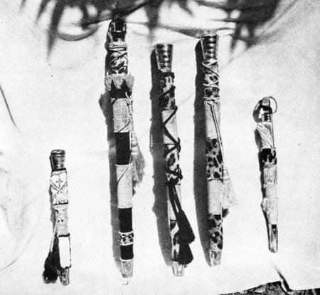 bastones abakua